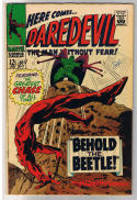 DAREDEVIL #33, FN, Gene Colan, Behold, the Beetle, Stan Lee, 1964, more in store