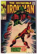 IRON MAN #5, VF, Tony Stark, Invincible, Movie,1968, (a), more IM in store