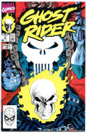 GHOST RIDER #6, ( 4 copies) NM+, Johnny Blaze, Punisher, Mark Texeira, 1990