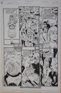 PHIL JIMENEZ / BRUCE PATTERSON original art, SHOWCASE '94 #5 pg 8, 11