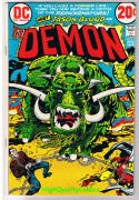 DEMON #3, VF, Jack Kirby, 4th World, Reincarnators, 1972, more JK in store