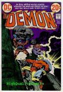 DEMON #5, VF, Jack Kirby, Evil Witch, Merlin, Fear,1972