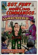 SGT FURY #30, War, WWII, Italy, Surrender,1963, VF