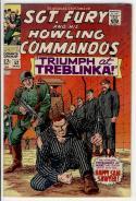 SGT FURY #52, War Camp, WWII, Germans, Severin, 1963, FN/VF