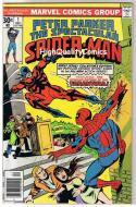 SPECTACULAR SPIDER-MAN #1, VF, Tarantula, Orgin, 1976, more SM in store
