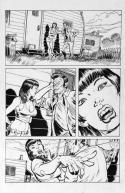 DEAN KOTZ Original Published Art, TRAILER PARK of TERROR #9 page 1,Zombies