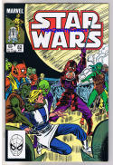 STAR WARS #82, NM-, Luke Skywalker, Darth Vader, 1977, more SW in store