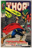 THOR #143, VG+, Jack Kirby, Stan Lee, Bill Everette, 1966, more JK in store
