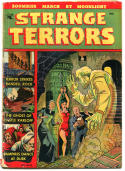 STRANGE TERRORS #1, VG, 1952, Golden Age, Pre-Code Horror, Bondage, Zombies
