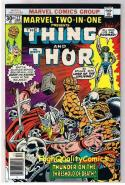 MARVEL TWO-IN-ONE #22, NM-, Thing, Thor, Death, 1974, more Marvel in store