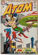 ATOM #7, FN+, Gil Kane, Murphy Anderson, Fox, 1st team-up w/ Hawkman,
