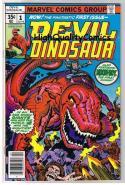 DEVIL DINOSAUR #1, VF, Jack Kirby, Moon-Boy, T-Rex, 1978, more JK in store