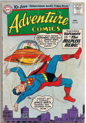 ADVENTURE COMICS #264,GD+, Superboy, Space, 1959, Aquaman , Sea Police