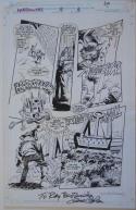 GENE COLAN / AL WILLIAMSON original art, HARROWERS #5 pg 6, 11x 17, Clive Barker