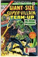 GIANT-SIZE SUPER-VILLAIN TEAM-UP #1, FN, Sub-Mariner, 1975