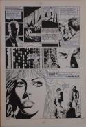 PAUL GULACY / DAN ADKINS original art, CODENAME DANGER  #4, pg 7, 11x17, Pope