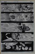 HOWARD PORTER / ROBERT JONES original art, RAY #7 pg 15, 11