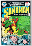 SANDMAN #2, FN+, Night of the Spider, Jack Kirby, 1974, more JK in store