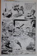 SAM GLANZMAN original art, G I Combat #249 Pg 6, 11