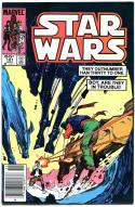 STAR WARS #101, VF-, Luke Skywalker, Darth Vader, 1977, more SW in store