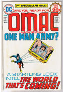 OMAC #1, FN, Jack Kirby, One Man Army Corp, 1974, more JK in store