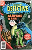 DETECTIVE COMICS #478, FN+, Batman, Caped Crusader, 1937 1978, more in store