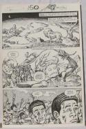 ERNIE CHAN Published Original Art SAVAGE SWORD of CONAN #150,pg 7, Signed w/art