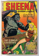 SHEENA QUEEN of the JUNGLE #8, VG, 1950, Golden Age, Pre-code, more in store
