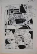 JOE STATON / MARK FARMER original art, NEW GUARDIANS #3 pg 28, 19.5