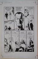 PAUL GULACY / RANDY EMBERLIN original art, STAR WARS CRIMSON EMPIRE II #1 pg 16