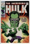 HULK #115, VF to VF+, Bruce Banner, Leader, Herb Trimpe, Radiation, 1968