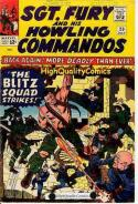 SGT FURY #20 21 22, Hostage, War, Blitz Squad, WWII, blood, gore, Hostage