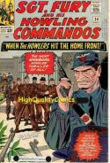 SGT FURY #23 24 25, WWII, Tommy Gun, Red Skull, War, Germany, Battle