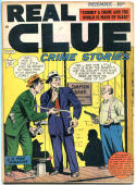 REAL CLUE CRIME STORIES V4 #10, FN, 1947, Golden Age, Pre-code,more in store