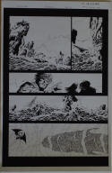 PHILIP TAN / JEFF Jeff De Los SANTOS original art, GODSLAYER #6 pg 17, 11