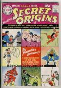SECRET ORIGINS 1, VG/VG+, Wonder Woman, 1961, Green Lantern, Silver age