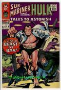 TALES To ASTONISH #84, VF+,  Hulk, Sub-Mariner, Jack Kirby, 1966, Gene Colan