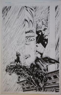 CLARENCE JONES / VICTOR LLAMAS original art, DARKNESS #30 pg 4, 11