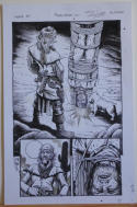 TIMOTHY TRUMAN original art, HAWKEN #2, Water boarding style, 11