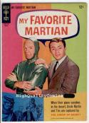 MY FAVORITE MARTIAN #5, FN to FN+, Gold Key, Photo cv, Bill Bixby, Walston