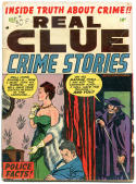 REAL CLUE CRIME STORIES V7 #10, VG, 1952, Golden Age, Pre-code,more in store
