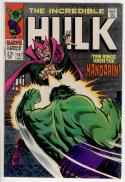 HULK #107, VF/NM, Mandarin, Trimpe, Incredible,1968, more in store