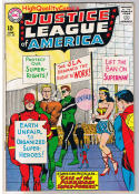 JUSTICE LEAGUE of AMERICA #28, FN, Wonder Woman, Atom, 1960, more in store