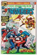 INVADERS #6, VF+, Captain America, Human Torch, 1975, more in store