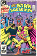 ALL-STAR SQUADRON #33 34 35, 38 39, FN+ to VF, 5 iss, Freedom Fighters, 1981