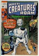 WHERE CREATURES ROAM #2, VF+, Jack Kirby, Steve Ditko, 1970, Bronze age