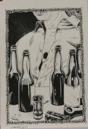 DOUG SIROIS original published art, BANSHEE'S CRY splash page 13, 12
