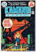KAMANDI #20, VF, Jack Kirby, Last Boy on Earth, 1972, more JK in store