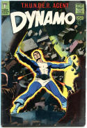 DYNAMO #2, FN, Thunder Agent, Wally Wood, 1966, more WW in store