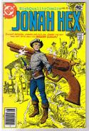 JONAH HEX #27, VF+, Wooden SixGun, Scar, 1977, more JH in store